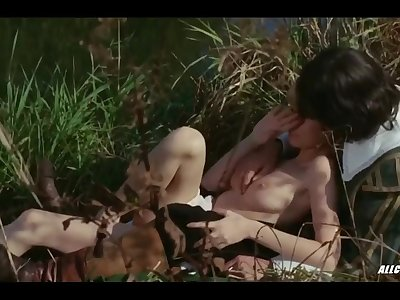 Hot Celeb Ingrid Steeger in The Sex Adventures of the Three Musketeers