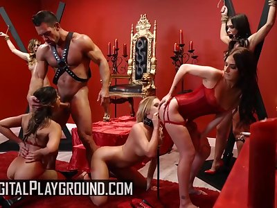 Digital Playground - kinky orgry in sex dungeon