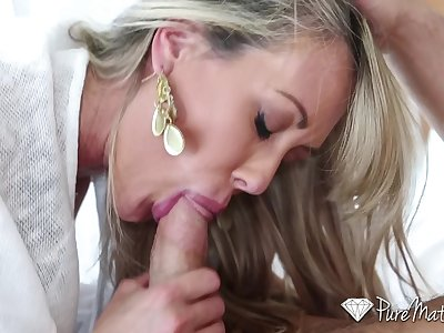 PureMature - Sexy cougar Brandi Enjoy fucked