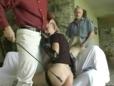 Willing slavegirls providing head